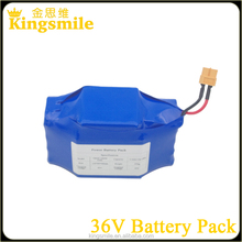 Authentic Samsung 18650 battery pack 36v 42V 4.4ah battery pack for two wheels smart self balancing scooters