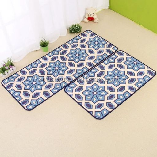 bathroom,living room,kitchen waterproof floor mat /entrance door mat/polypropylene floor mat