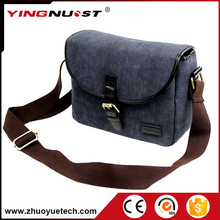 China Fashionable Unique Waterproof Canvas Camera Bags Extra Large Crossbody Camera Day Bag Case