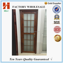 aluminium frame toughened glass bathroom entry doors