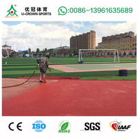 Material For Rubber Synthetic Running Track and playground surface