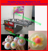 commercial flower type cotton candy making machine