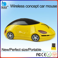 VMW-152 new arrival 2014 mini micro wholesale wireless car mouse for laptop