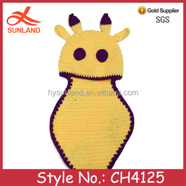 CH4125 handmade lovely animal soft warm baby sleeping bag wholesale