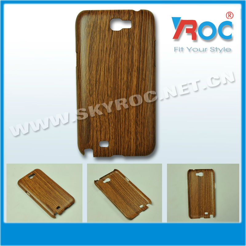 New Hard Back Cover Case for Samsung Galaxy Note II 2 N7100 (Wood Grain)