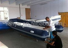 Liya 8 people rib dinghy inflatable rubber motor boat 5 meter hypalon yacht