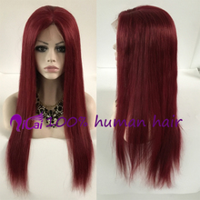 wholesale burg human hair wig lace front wig natural hairline brazilian virgin remy human hair burg full lace wig