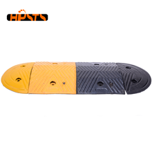 Lightweight rubber material reduce speed road hump