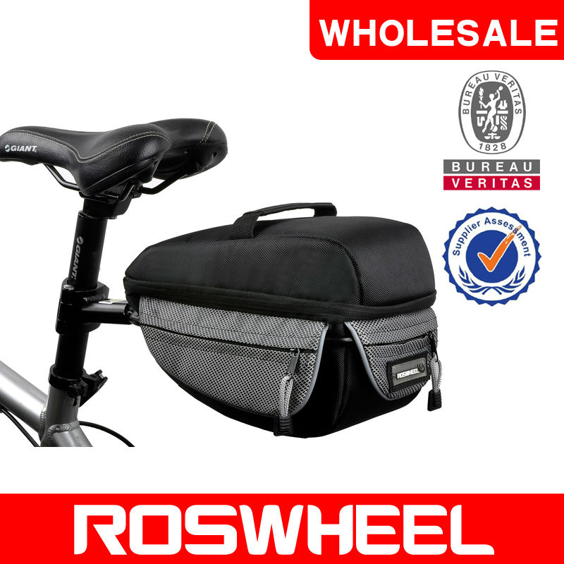 [14224] Wholesale goods in stock ROSWHEELmodel Bicycle rear trunk bag
