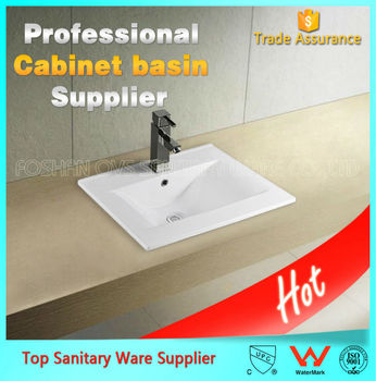 China sanitary ware thin basin with different sizes Item:9060D wash basin price