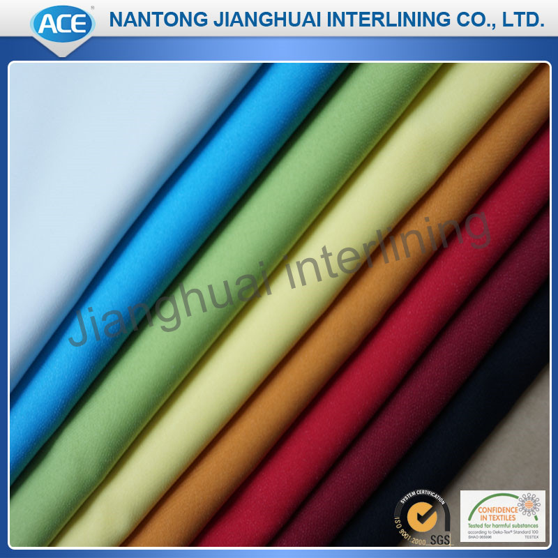colorful woven cloth fusible interlining