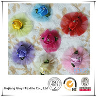 artificial rose balls for wedding decoration, small silk roses