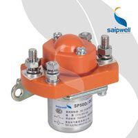 Saip/Saipwell China supplier three phase dc coil 24v dc contactor
