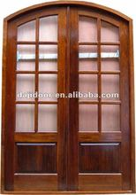 European Round Top Fancy Entry Doors Style DJ-S9184A