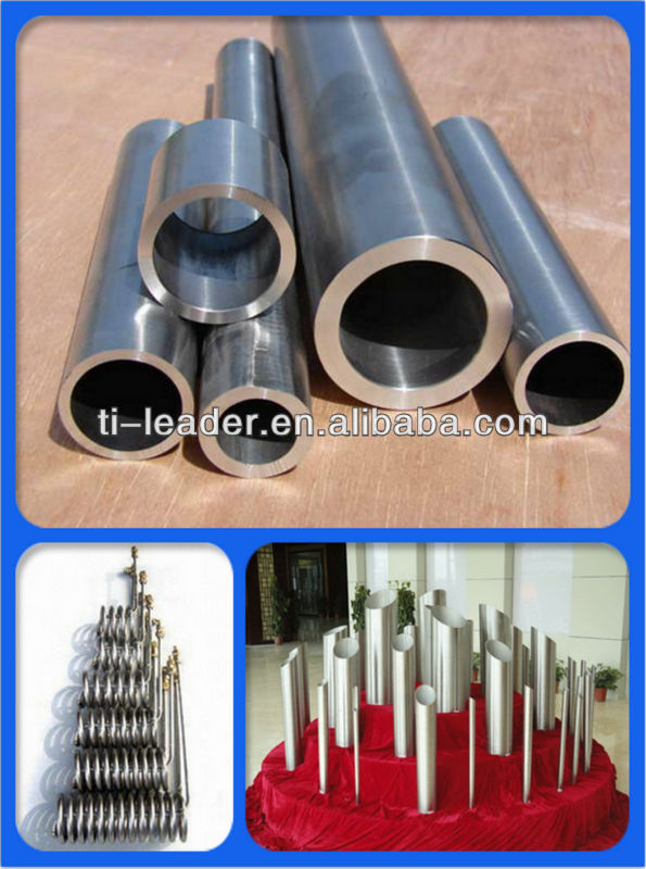 Industrial Seamless Gr2/Gr9 Price Titanium Tube
