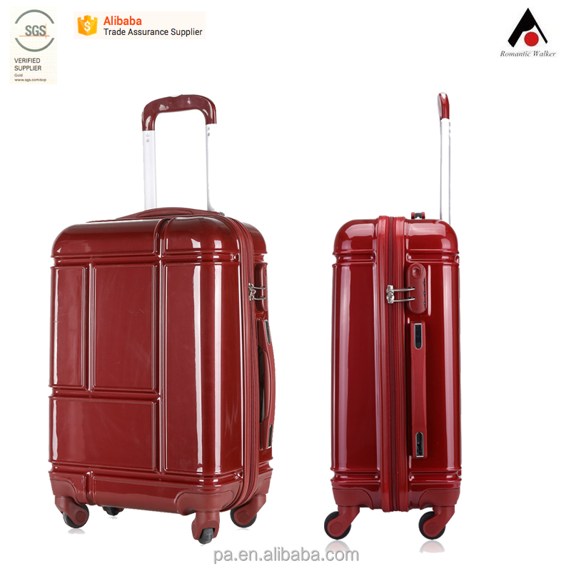 popular 4wheels TSA lock ABS PC travel luggage ,suitcase set