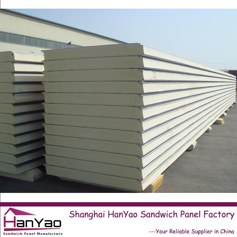 Easy Installation Fireproof Polyurethane Sandwich Roof Panel Carbon Fiber Sandwich Panel Load in Trailer