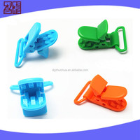 High quality plastic clip for pacifier holder,small plastic dummy clips,soother clips