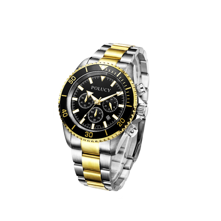 Shenzhen factory OEM men automatic diver watch with 316L stainless steel band