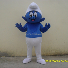 Wholesale online classic cartoon character adult Smurf mascot costume