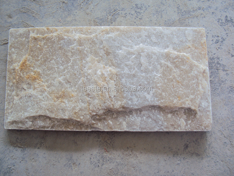 China Natural Yellow Quartz & Slate with Factory Price