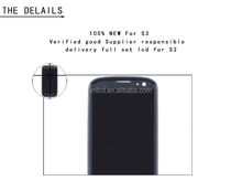 100% original original new lcd for samsung galaxy s3 i9300 lcd in lcd modules with 12 months warranty