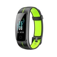 "Original 0.96"" Color LCD Screen ID107 Plus Color Heart Rate Monitor IP68 Smart Bracelet Fitness Tracker Pedometer Watch Band"