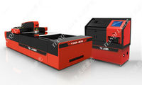 Yag laser cutting machine /Maquina corte de metal