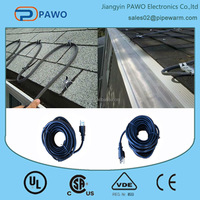 factory direct sales 120ft defrost heating cable for roof & gutter