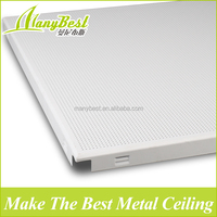 Supply high quality and moderate price metal ceiling tiles
