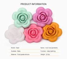 Food Grade Silicone Flower Beads