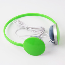 Colorful Mini Sport MP3 Wired Headphone for Girls