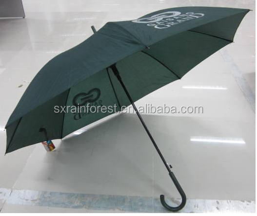 23 inch promotion cheap umbrella auto open rain straight umbrella