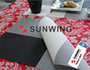 rubber silicone customized table plate cover pad