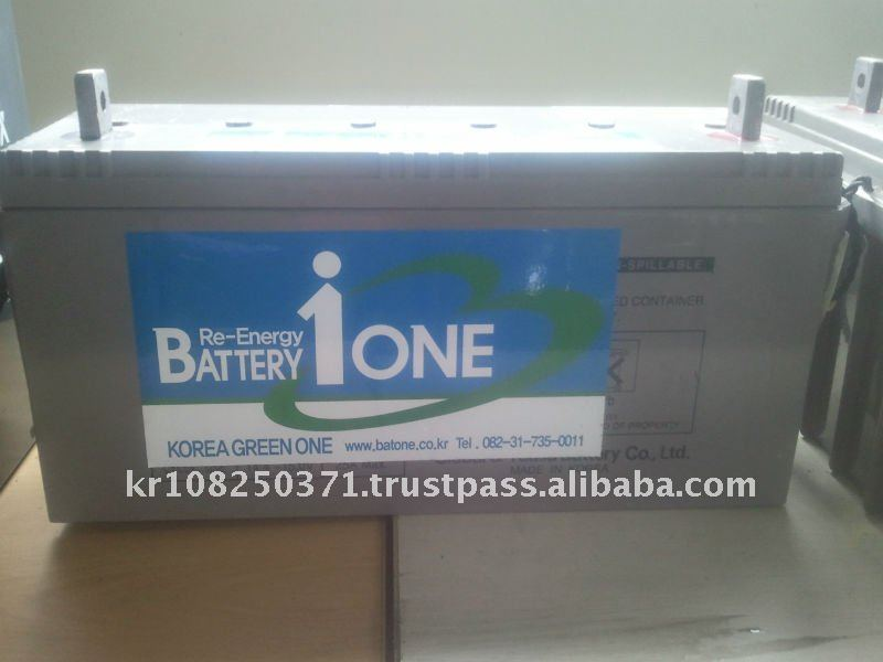 Industrial Storage Battery 12V 150Ah