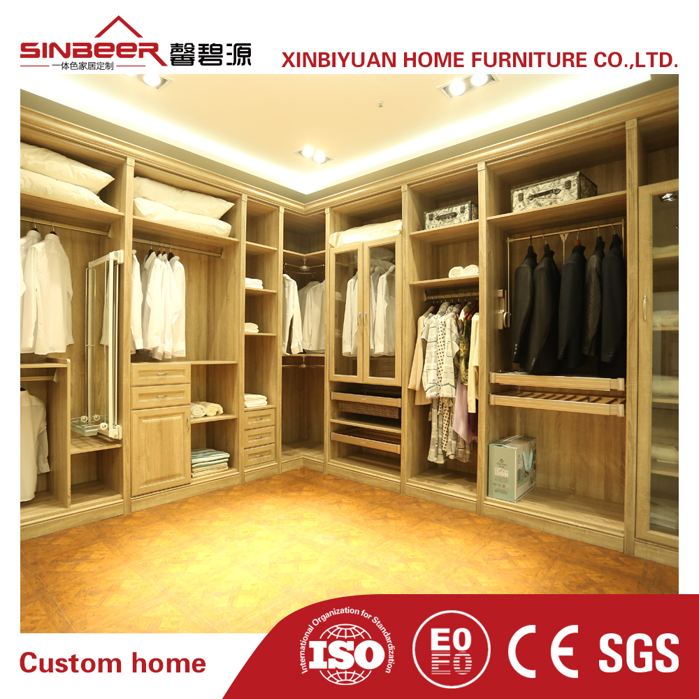 High Quality open wardrobe design walk closet