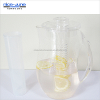 2014 New style BPA Free plastic Fruit Infusion Jug
