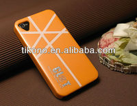 Cellphone accessories hard back cover case for iphone4 4s