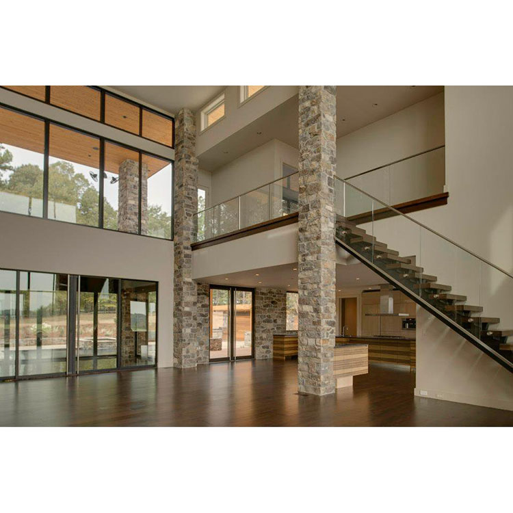 Stainless Steel Stair Balcony Glass Railing Designs