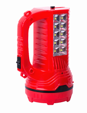 red 1w 10 SMD outdoor saving energy rechargeable spotlight