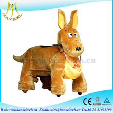 Hansel plush animal electric scooter rocking horse zoo ride electric