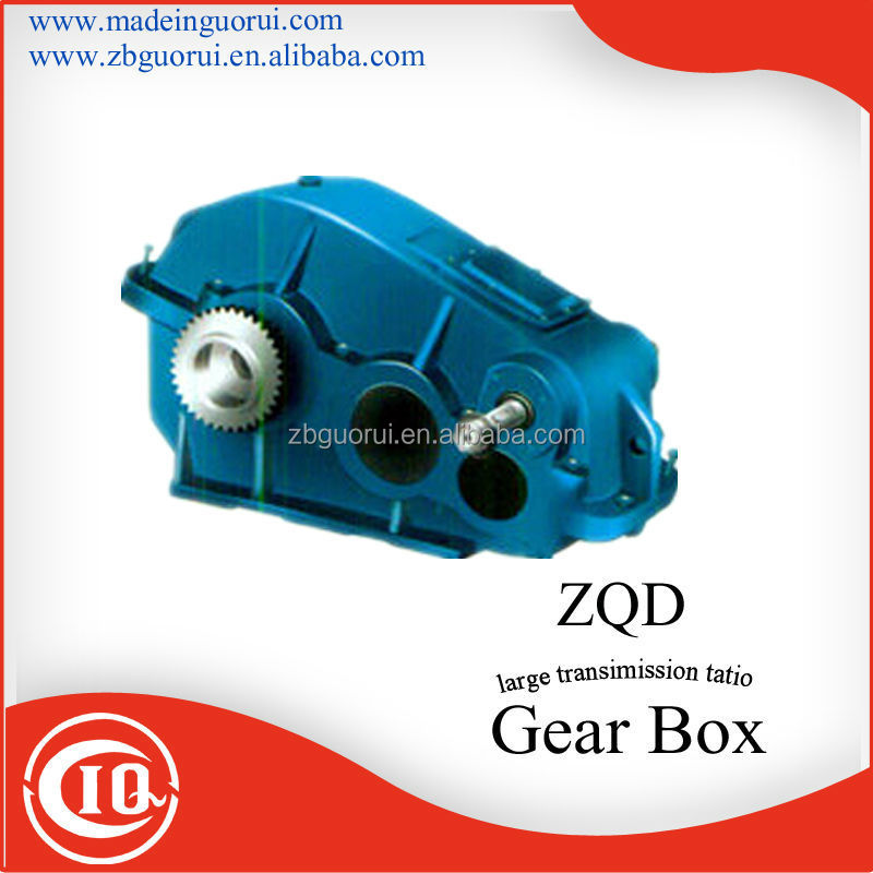 Zibo Boshan GVORVI low prices Three Stage Cylindrical Helical reversing gear box
