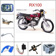 RX100 motorcycle spare part Steering Damper & Clutch Brake Lever & Shock Absorber
