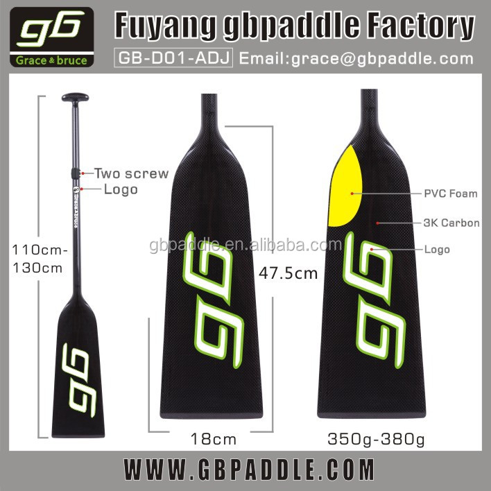 2015 fashion foot paddle boats carbon fiber Dragon paddle for sale