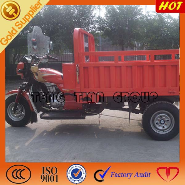 Heavy loading for three wheeled motorcycle on sale with 150-250cc cooler