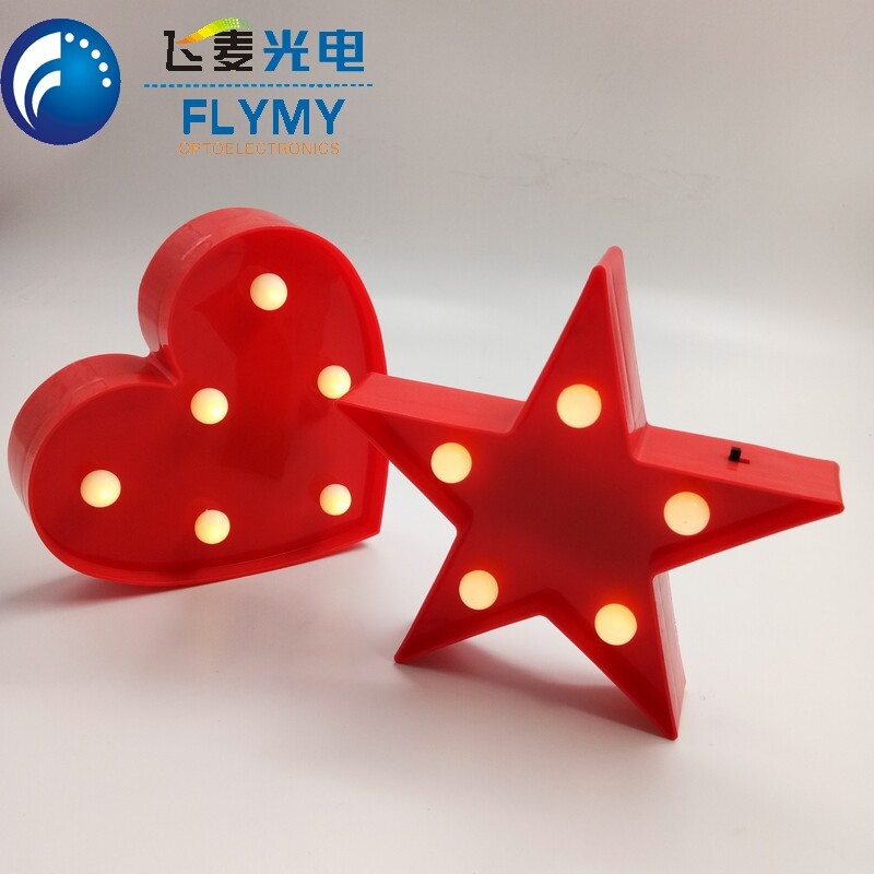Marquee Star <strong>Sign</strong> Wall Decor Battery Operated,Battery Operated Led Light Star