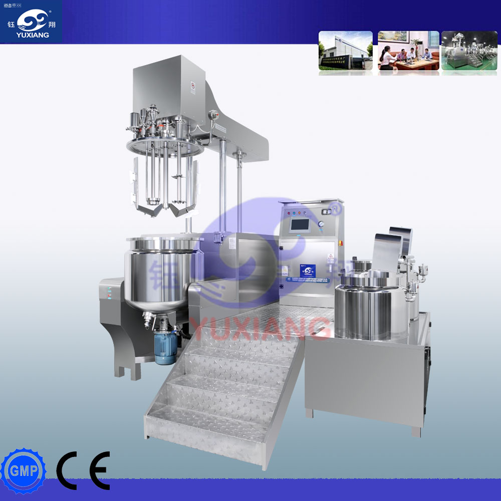 1L-500Lhydraulic lifting rotor stator mixing head/shampoo mixing machine