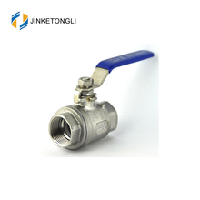 2pc forged ss 4 inch cf8m 1000 wog ball valve