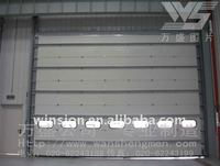 Made in china industrial vertical lift door