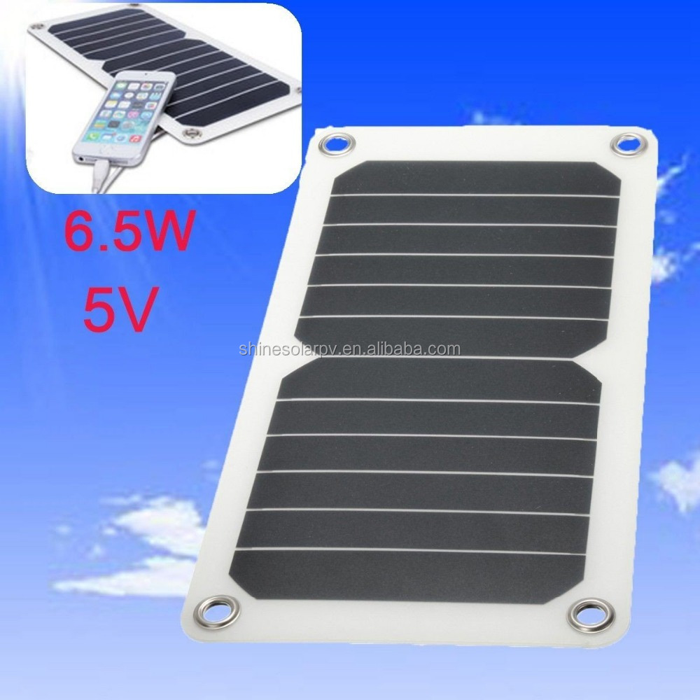 Wholesale 6.5W 5V Solar panel Sunpower hiking backpack with solar panel